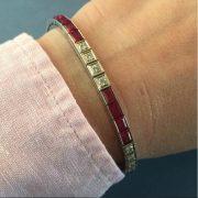 beautiful-diamond-and-ruby-tennis-bracelet