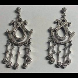 chandelier oorbellen hanger