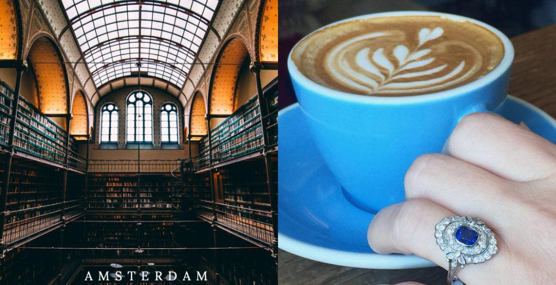 Coffee at the Rijksmuseum Amsterdam